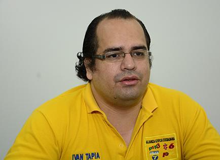 """Iván Tapia: """"Instaré crear unidades que generen ingresos y empleo"""""""