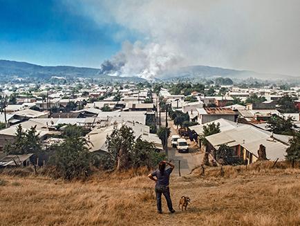 Dos regiones de Chile en alerta roja