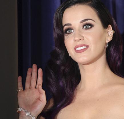 La cantante Katy Perry inicia gira