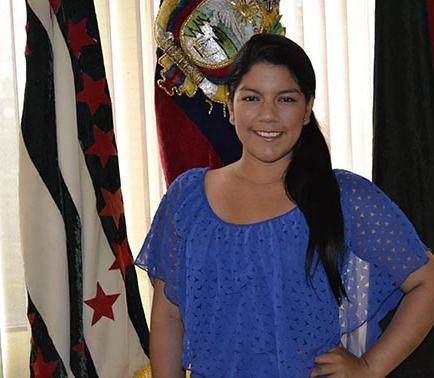 Melissa Merchán será proclamada esta noche como Señorita 8 de Enero