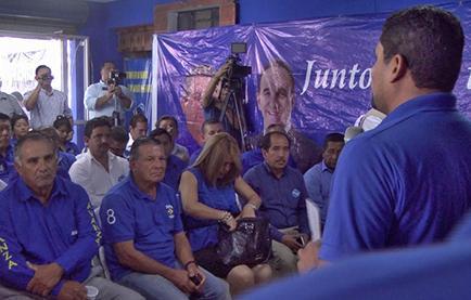 Oficializan a Jorge Luis Pérez a la  Prefectura