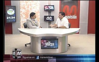Voto 2014: Leonardo Cárdenas, candidato a la alcaldía de Manta (parte 3)