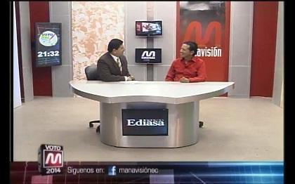 Voto 2014: Sergio Andrade, Candidato a la alcaldía de Manta (parte 3)