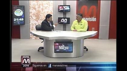 Voto2014: Jaime Estrada, candidato a la alcaldía de Manta (parte 3)