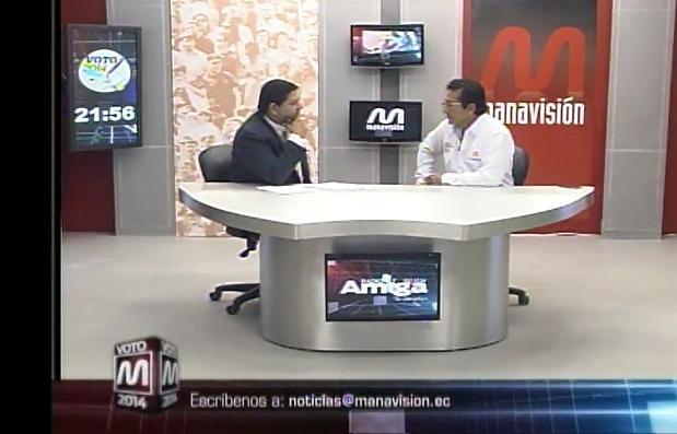 Voto 2014: Jorge Zambrano, Candidato a la alcaldía de Manta (parte 3)