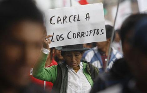 Resultado de imagen para corrupcion ecuador
