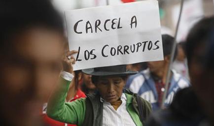 Resultado de imagen para ecuador corrupcion