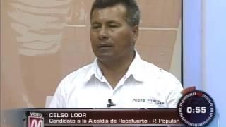 EL FORO: Candidatos a alcalde de Rocafuerte (bloque 2)