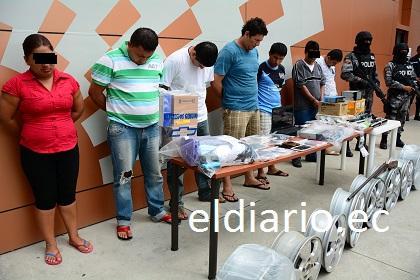 José Macías, alias 'Fito', habría liderado el robo de vehículos en concesionaria de Manta