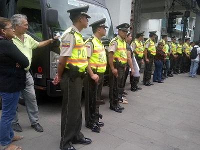 Ministerio del interior realiza la entrega de personal for Ministerio del interior ecuador