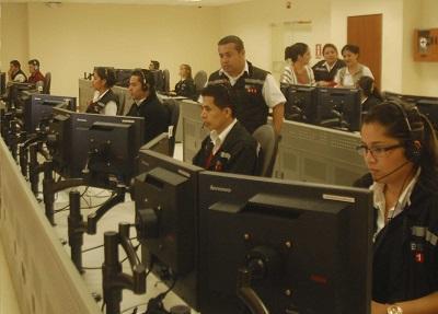 4.000 llamadas al dia en el  ECU-911