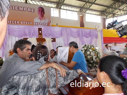 Eliécer Bravo, exalcalde de Chone, será sepultado este martes