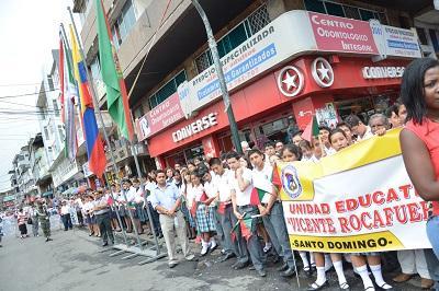 Conmemoraron con un acto la parroquialización de Santo Domingo