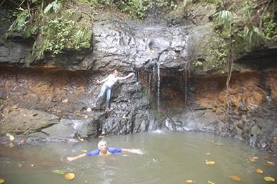 Cascada samanes atrae a turismo