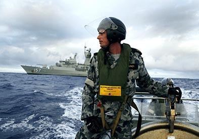 La búsqueda submarina de avión de Malaysia  Airlines fue suspendida