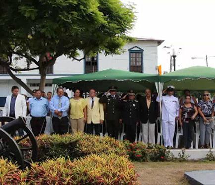 Recuerdan a los héroes del Pichincha