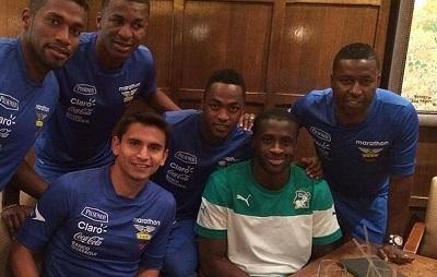 Yaya Touré visitó a la 'Tricolor' en Estados Unidos