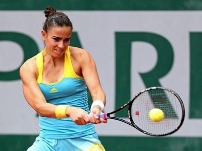 La lluvia interrumpe el partido entre Ormaechea y Sharapova en Roland Garros
