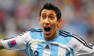 Di María se sumó a la selección argentina y Agüero no entrenó por fiebre