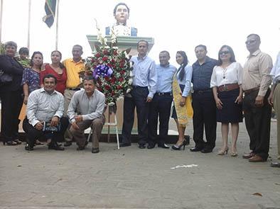 Homenaje a los héroes de Pichincha