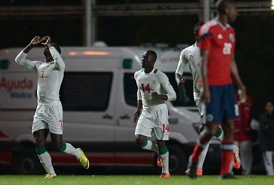 Colombia empató 2-2 ante Senegal en el arranque de su preparación para el Mundial