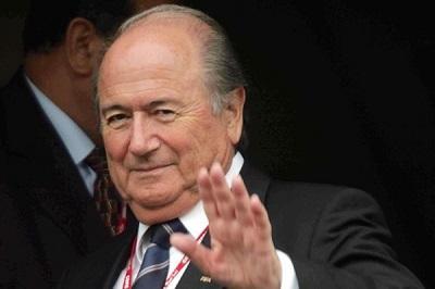 Joseph Blatter llega a Brasil para quedarse hasta fin del Mundial