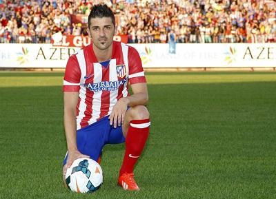 David Villa anuncia su salida del Atlético de Madrid