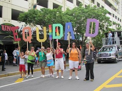 Puerto Rico celebra su diversidad en la Parada de Orgullo LGBTT