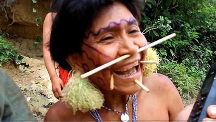 Encuentra a su madre en el Amazonas