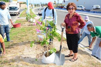 El amor de Elvira Cedeño por las plantas
