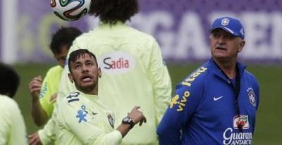 Scolari está disgustado con sus jugadores a once días del Mundial