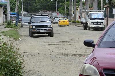 Dos calles con hormigón rígido consideradas en plan de mejoramiento
