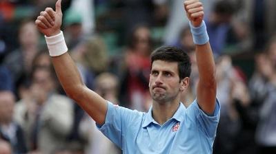 Novak Djokovic accede a cuartos de final del Roland Garros