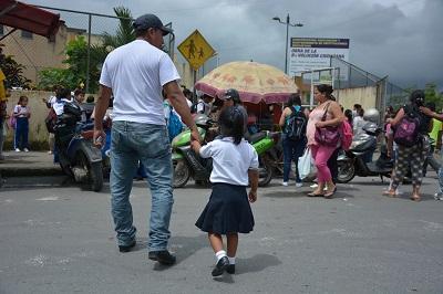Comienza el periodo escolar de los alumnos de Inicial en Santo Domingo