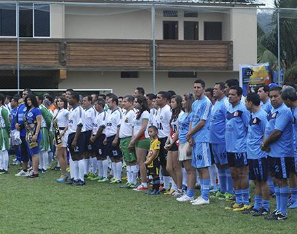580 deportistas en interinstitucional