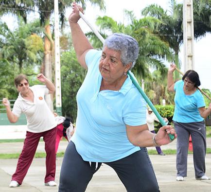 El ejercicio ayuda a la salud
