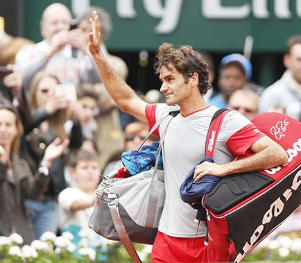 Roger Federer fue eliminado de Roland Garros