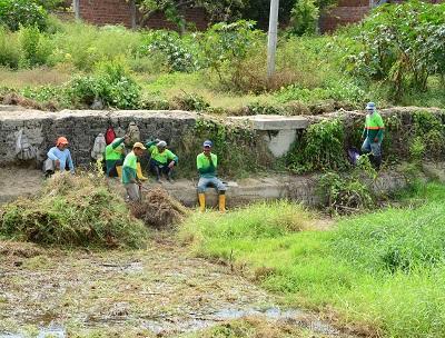 Piden cortar maleza en varios tramos de los ríos