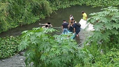 Hombre hallado con un disparo en el río ya fue identificado