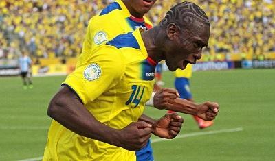 Federación Ecuatoriana de Fútbol dará a conocer hoy el grado de la lesión de Castillo