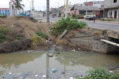 Contaminación de río causa molestias en Jaramijó