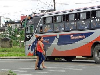Moradores de la cooperativa Juan Eulogio piden respetar las señales de tránsito