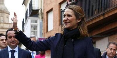 La infanta Elena seguirá con su agenda en Ecuador pese a abdicación del rey
