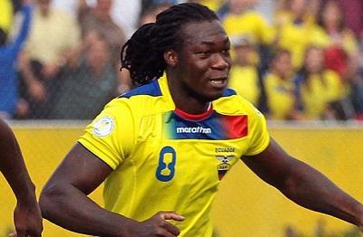 Felipe Caicedo usará la camiseta del 'Chucho' Benítez en el Mundial 2014