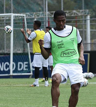 Ecuador se alista para jugar amitoso ante Inglaterra