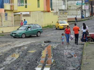 Calle Río Yamboya de Santo Domingo se encuentra intervenida, según moradores