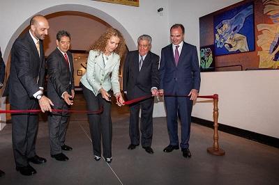 América y España se unen en exposición del pintor Oswaldo Guayasamín