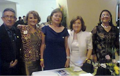 Miembros del Club de Leones asisten a convención
