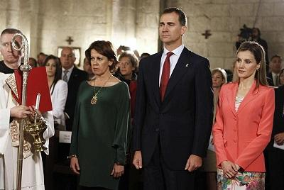 """Dedicaré todas mis fuerzas a servir a España"", dice Felipe de Borbón"