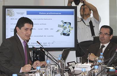 Diego Martínez: dinero electrónico entraría en operación en octubre